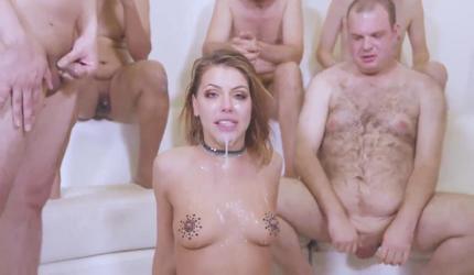 Короткое порно групавуха